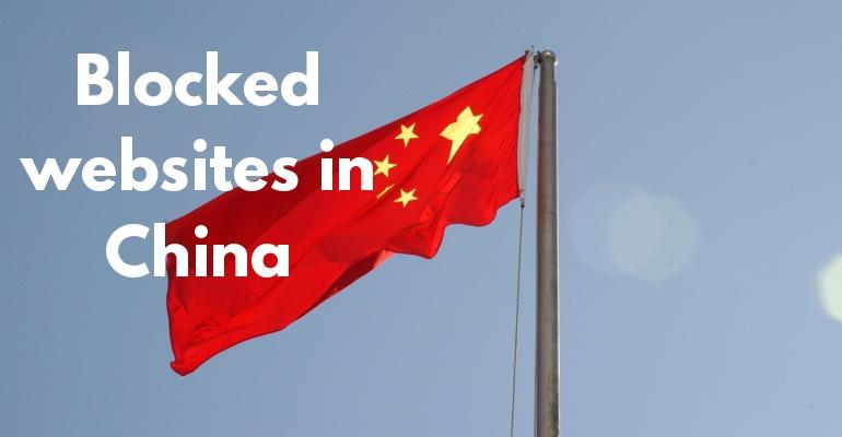 Blockerade hemsidor i Kina