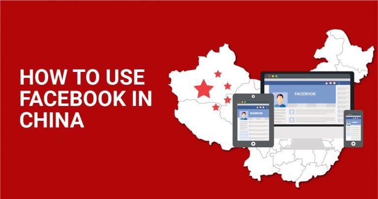 Hur du kan använda Facebook i Kina