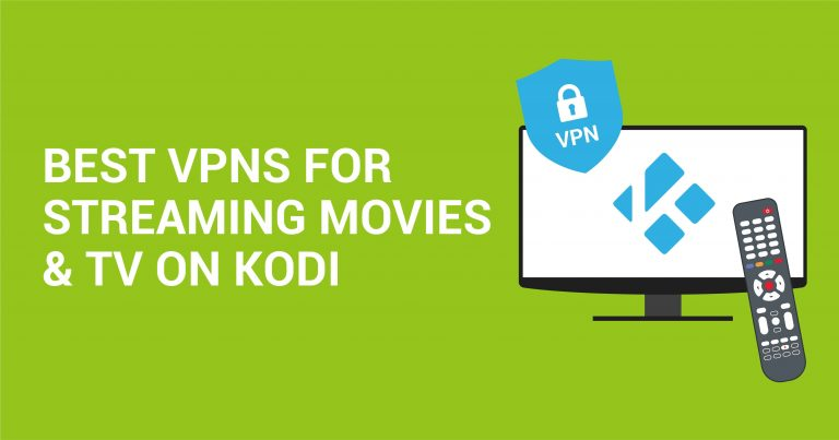 5 bästa VPN-tjänsterna för Kodi för säker streaming (uppdaterad 2020)