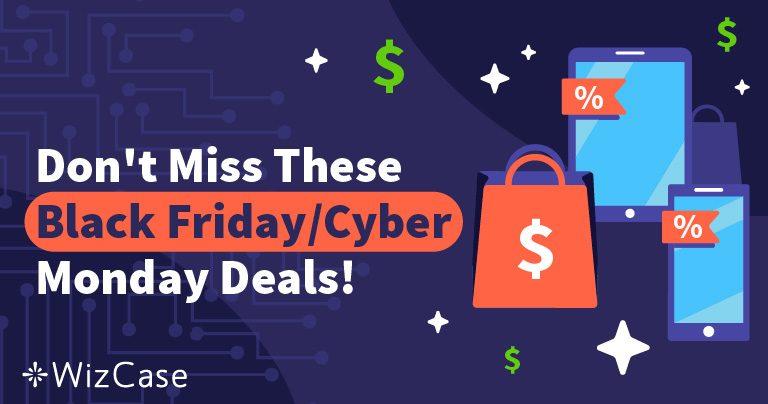 De bästa VPN-erbjudandena för Black Friday och Cyber Monday 2019