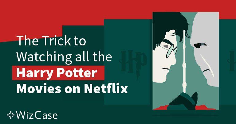 Se Harry Potter på Netflix var som helst år 2021 (Tips: gör detta först)