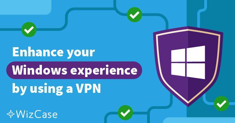 5 bästa VPN-tjänsterna för Windows – uppdaterad januari 2021