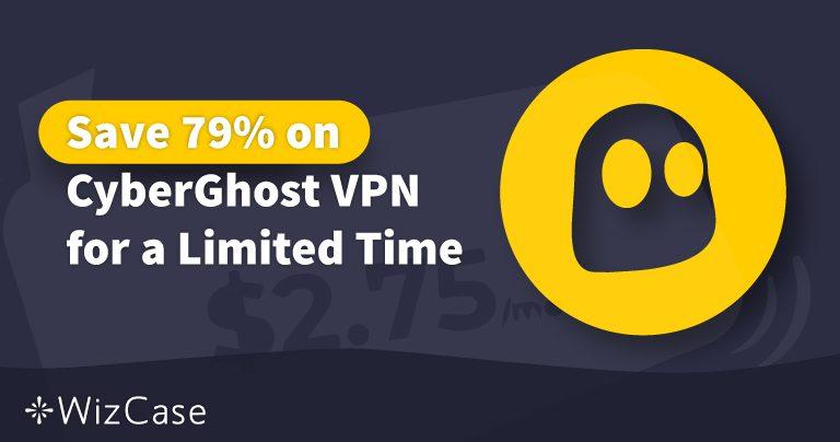 Giltig CyberGhost VPN-kupong 2021: Spara upp till 83 % idag