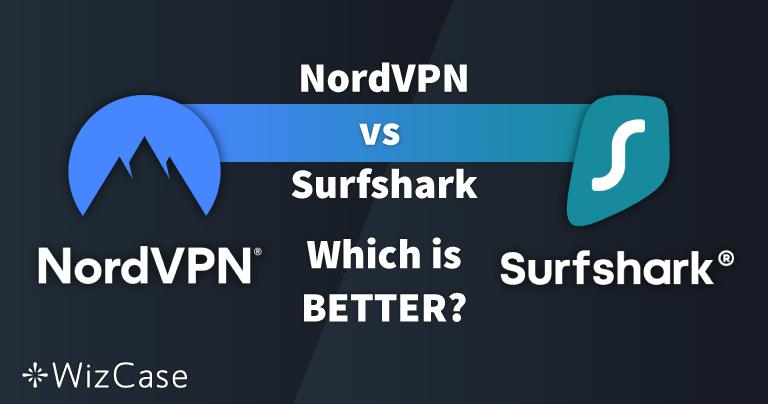 NordVPN vs. Surfshark: 13 jämförande tester 1 vinnare år 2021