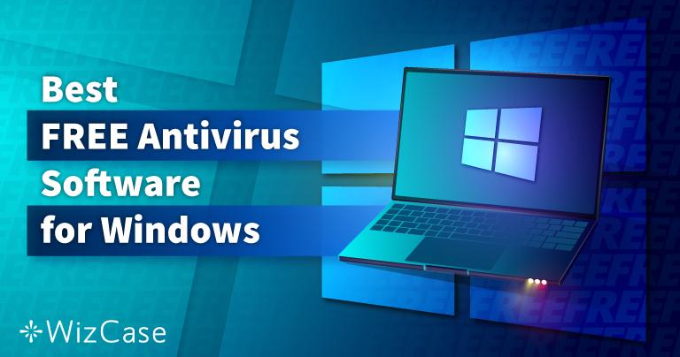 6 bästa GRATIS Antivirus för Windows (Testade 2021)